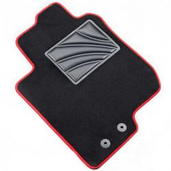 es. tapis MTM Plus - talonnette en moquette - bordure noir coton antiderapant