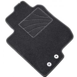 es. tapis MTM One - talonnette en moquette - bordure noir coton antiderapant