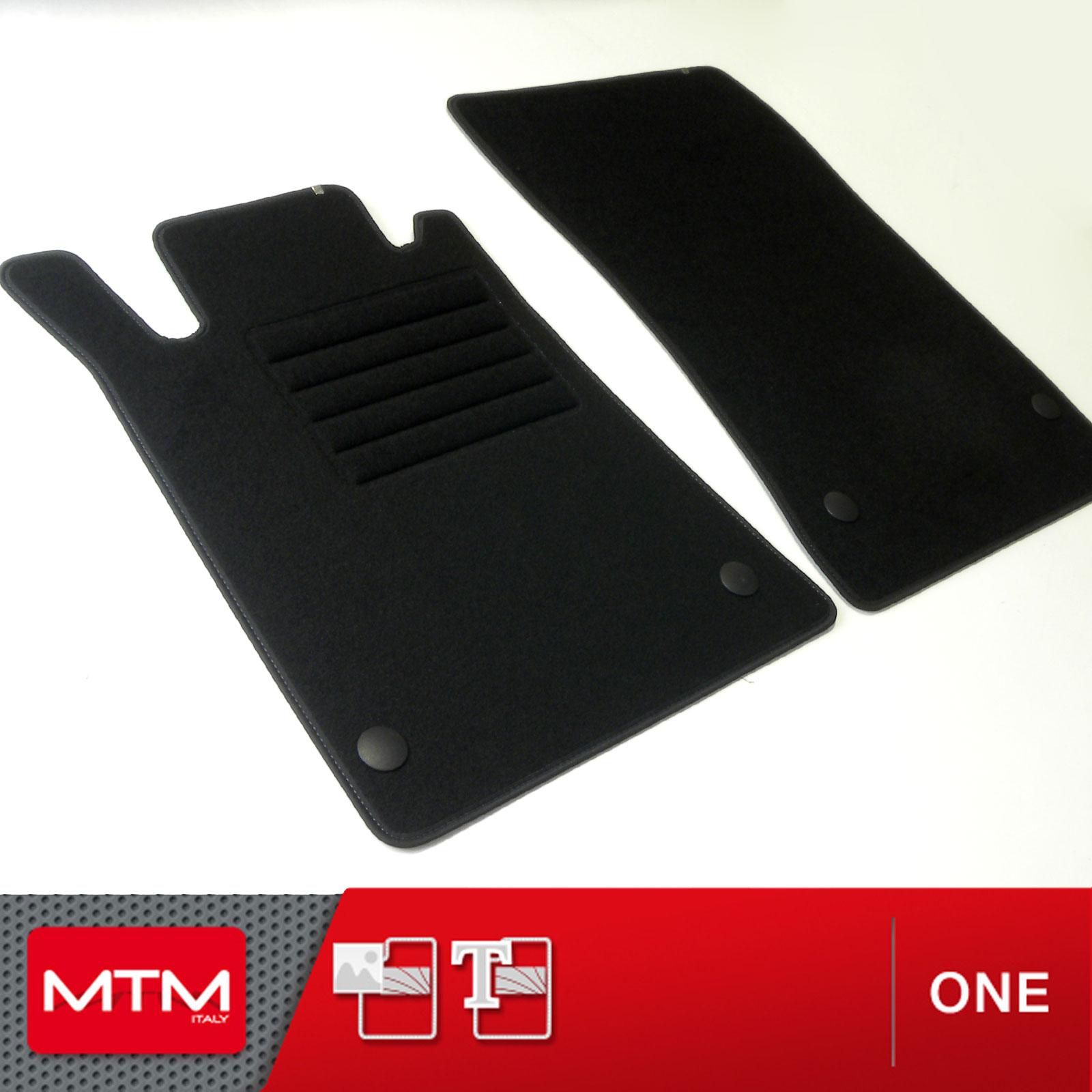 MTM Tapis de sol CLK cod Sur Mesure en Velours Noir One W209 de 2002 a 2010 fr1222