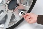 Le contrôle visuel dela pression des pneus